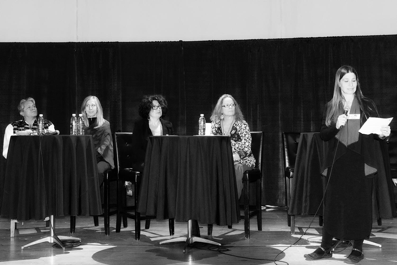 DAPL Panel On Stage